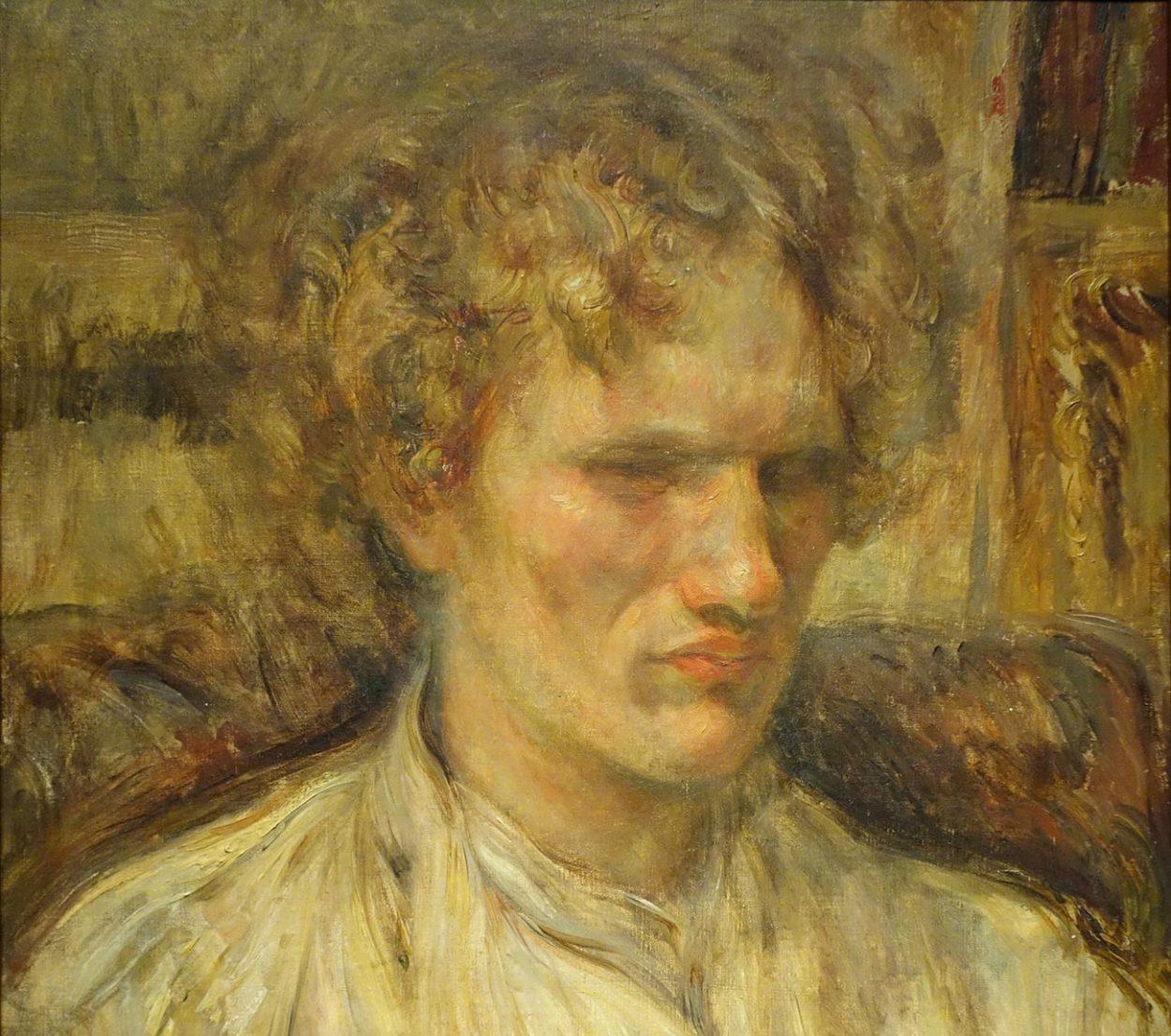 Портрет Василия Ерошенко