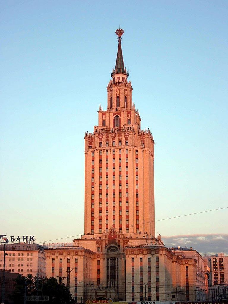 Здание гостиницы «Ленинградская»