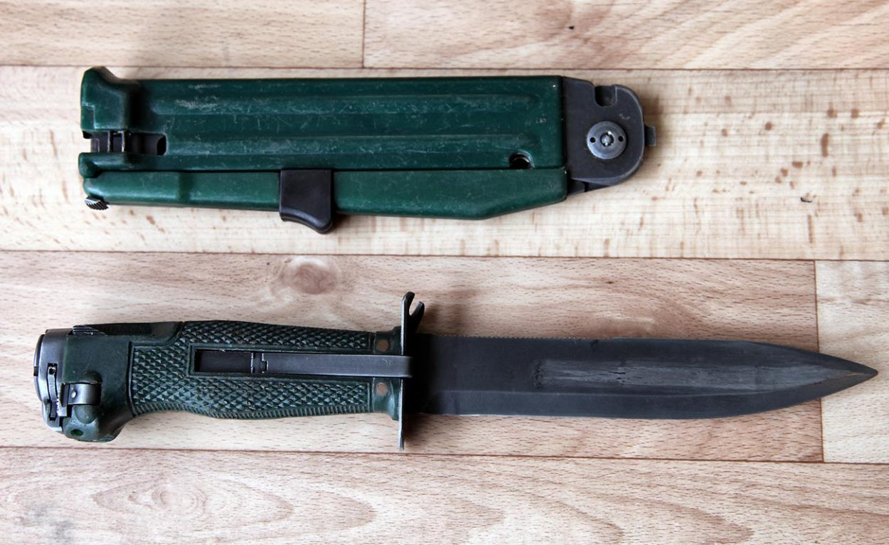 Стреляющий нож разведчика НРС-2