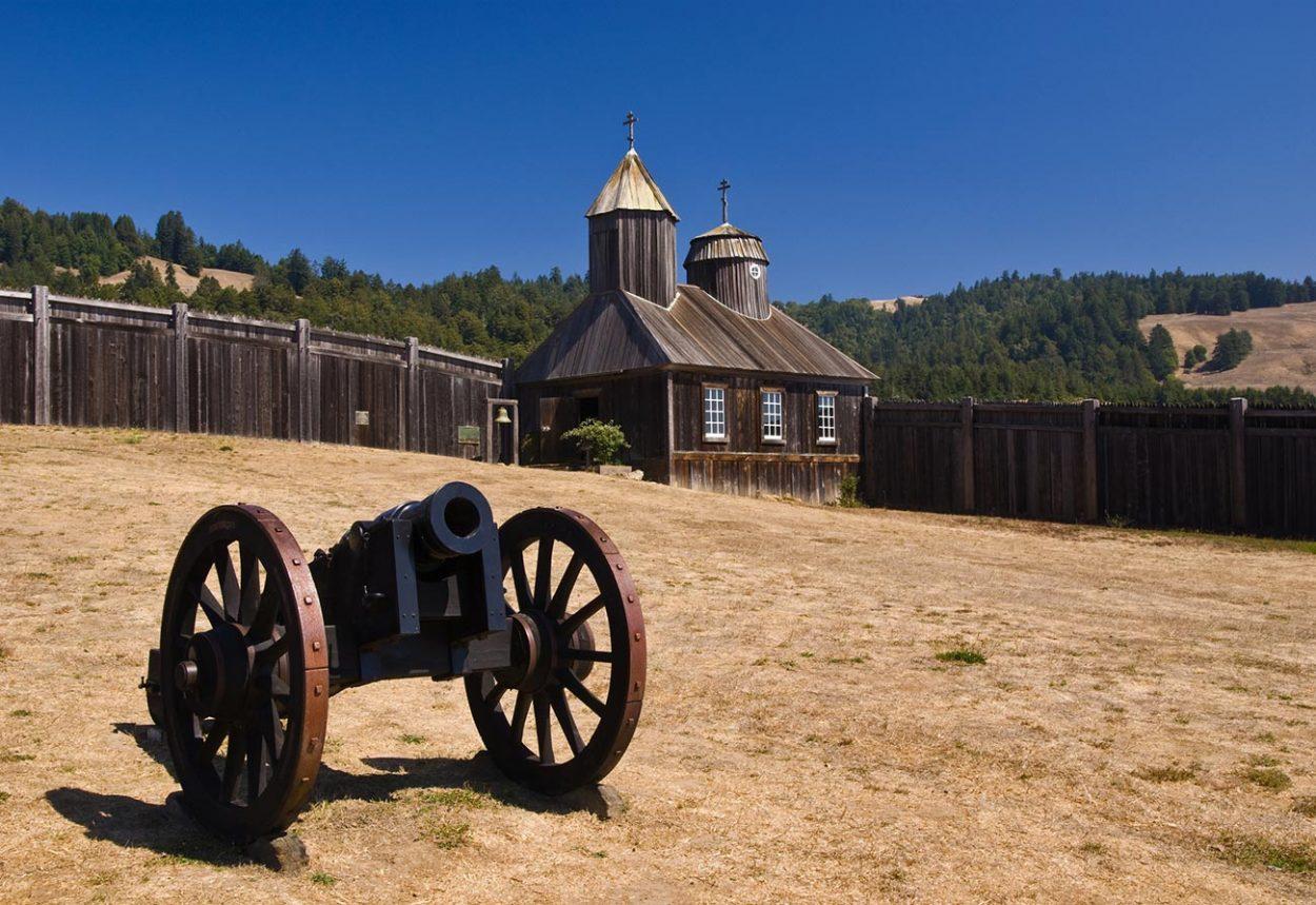 Русская крепость в Калифорнии