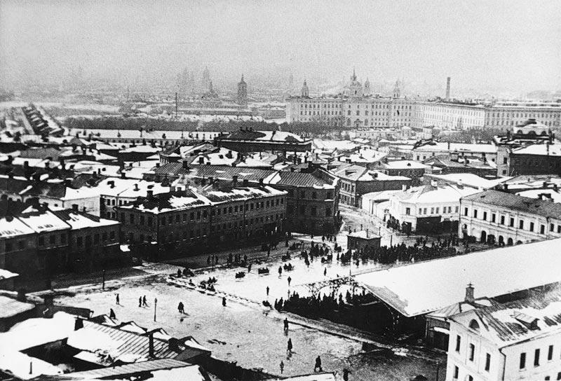 Хитровская площадь. 1916 год.