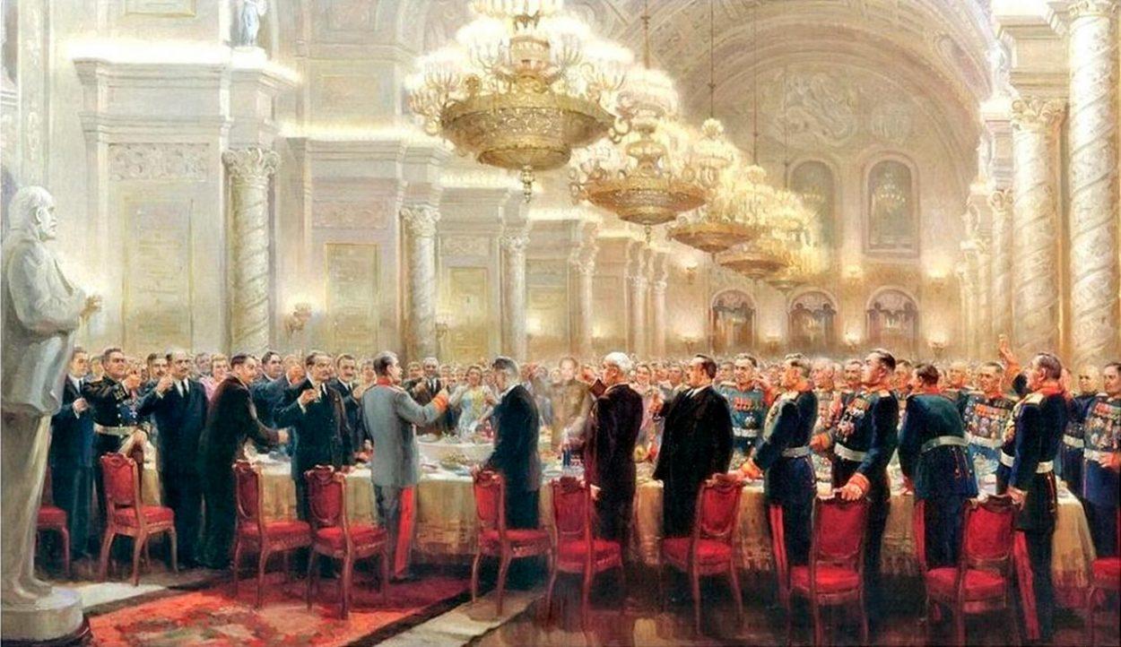 Картина М. Хмелько «За великий русский народ»