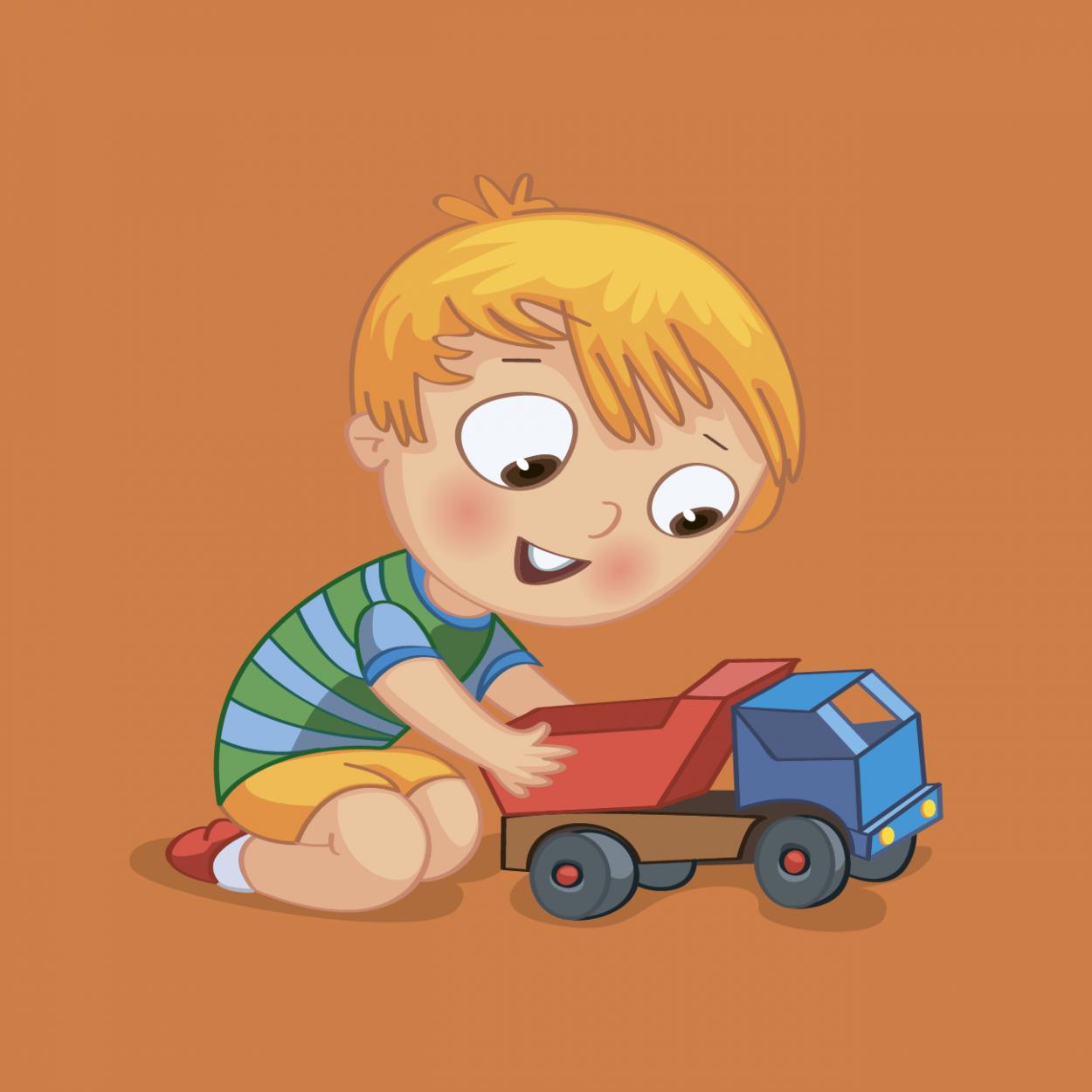 Иллюстрация к анекдоту про мальчика и летающего мужика