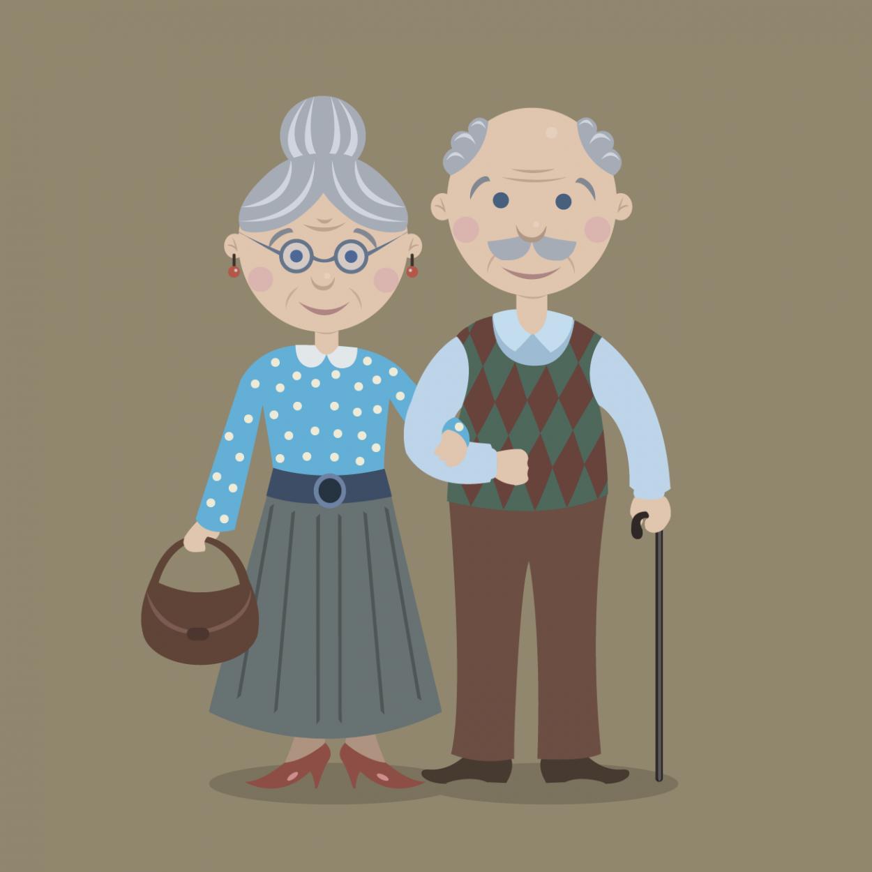 Иллюстрация к анекдоту про женщину, прожившую в браке 40 лет без единой ссоры
