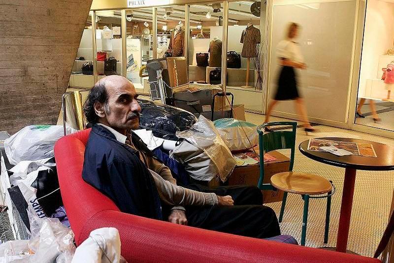 Человек, застрявший втерминале аэропорта на18лет