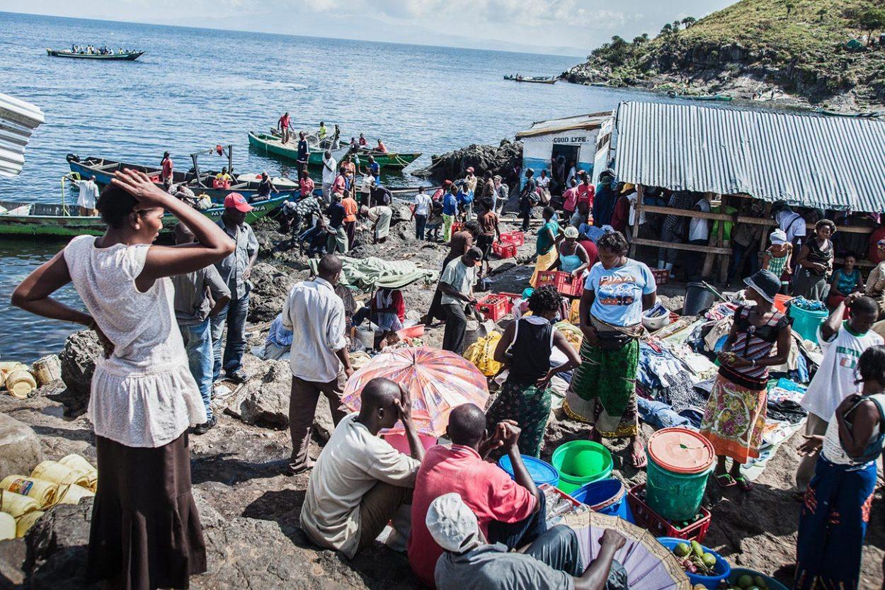Рынок на острове Мигинго