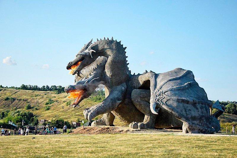 Развлекательный парк «Кудыкина гора», Липецкая область