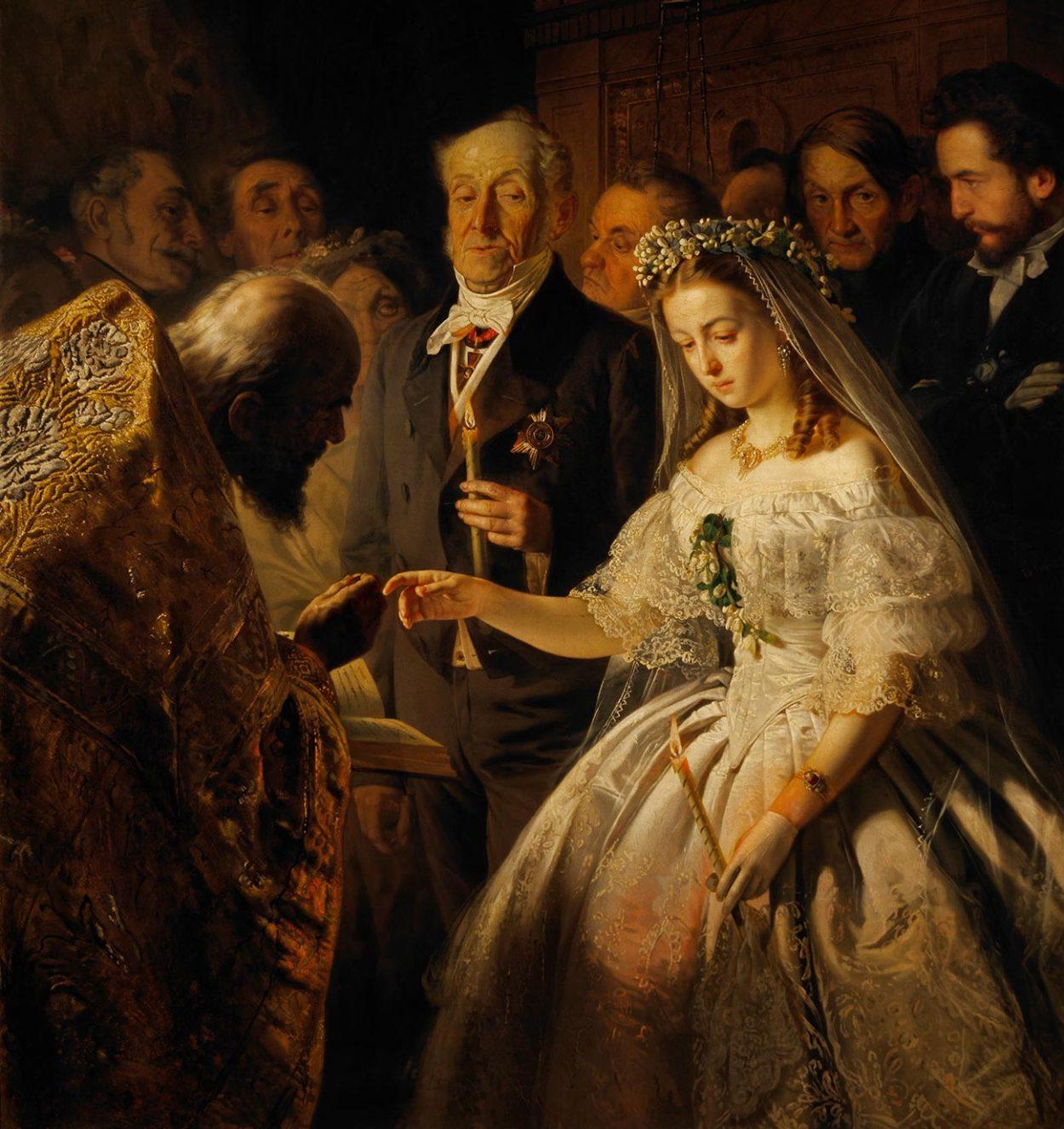 Картина В. В. Пукирева «Неравный брак»