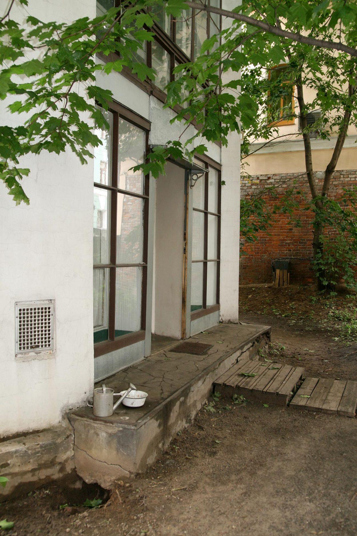 Вход в дом Мельникова