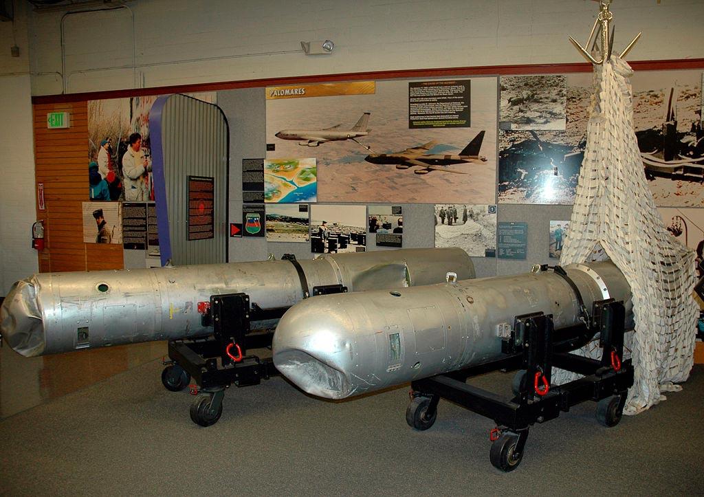 Водородные бомбы, упавшие близ Паломареса
