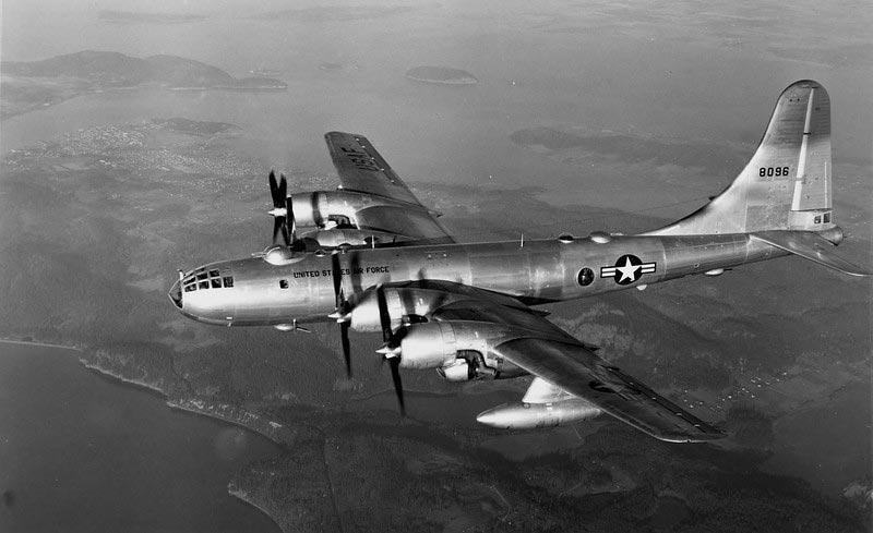 Американский тяжёлый бомбардировщик Боинг Б-29