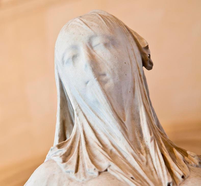 Как делали тончайшую вуаль на мраморных скульптурах