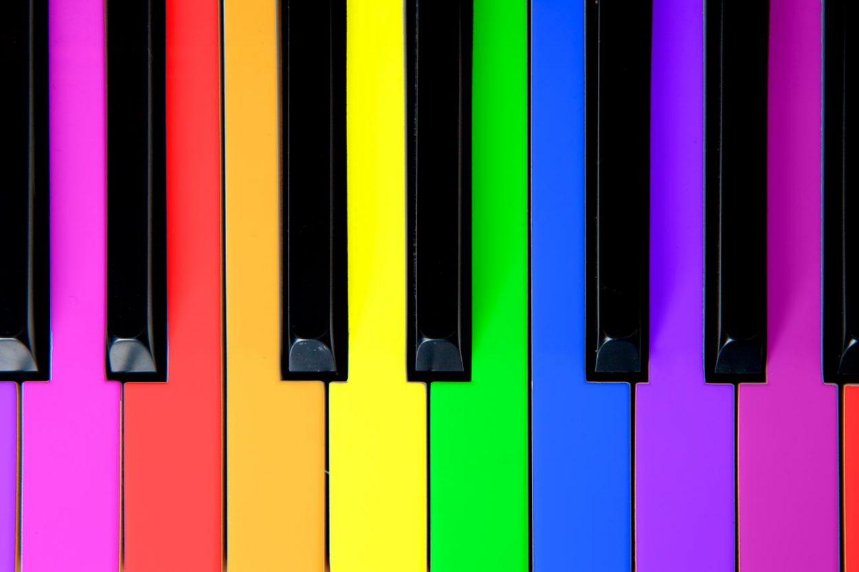 Цветное восприятие звука