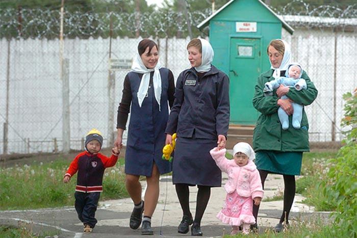 Осужденные и их дети рожденные в тюрьме