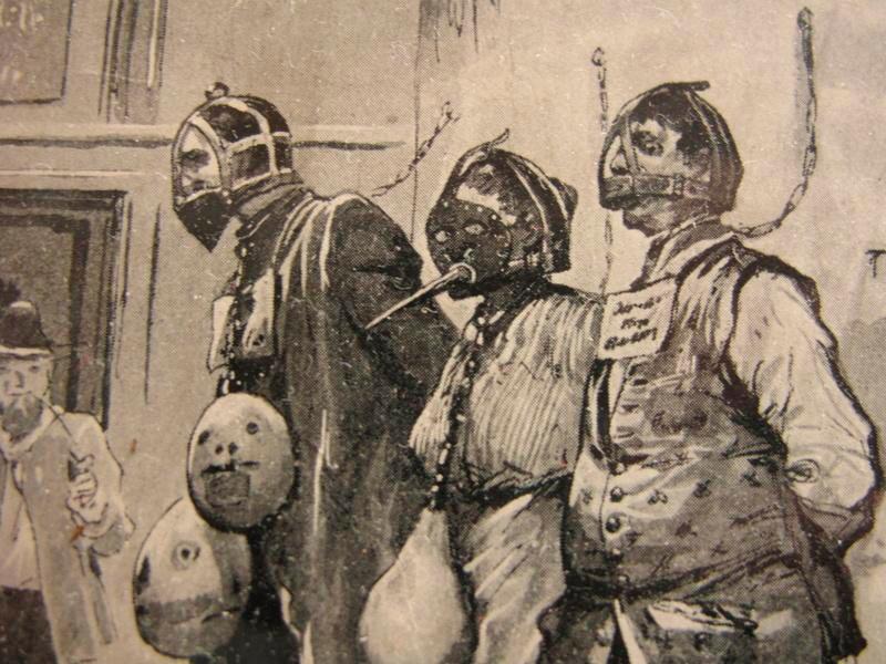 Средневековые маски стыда