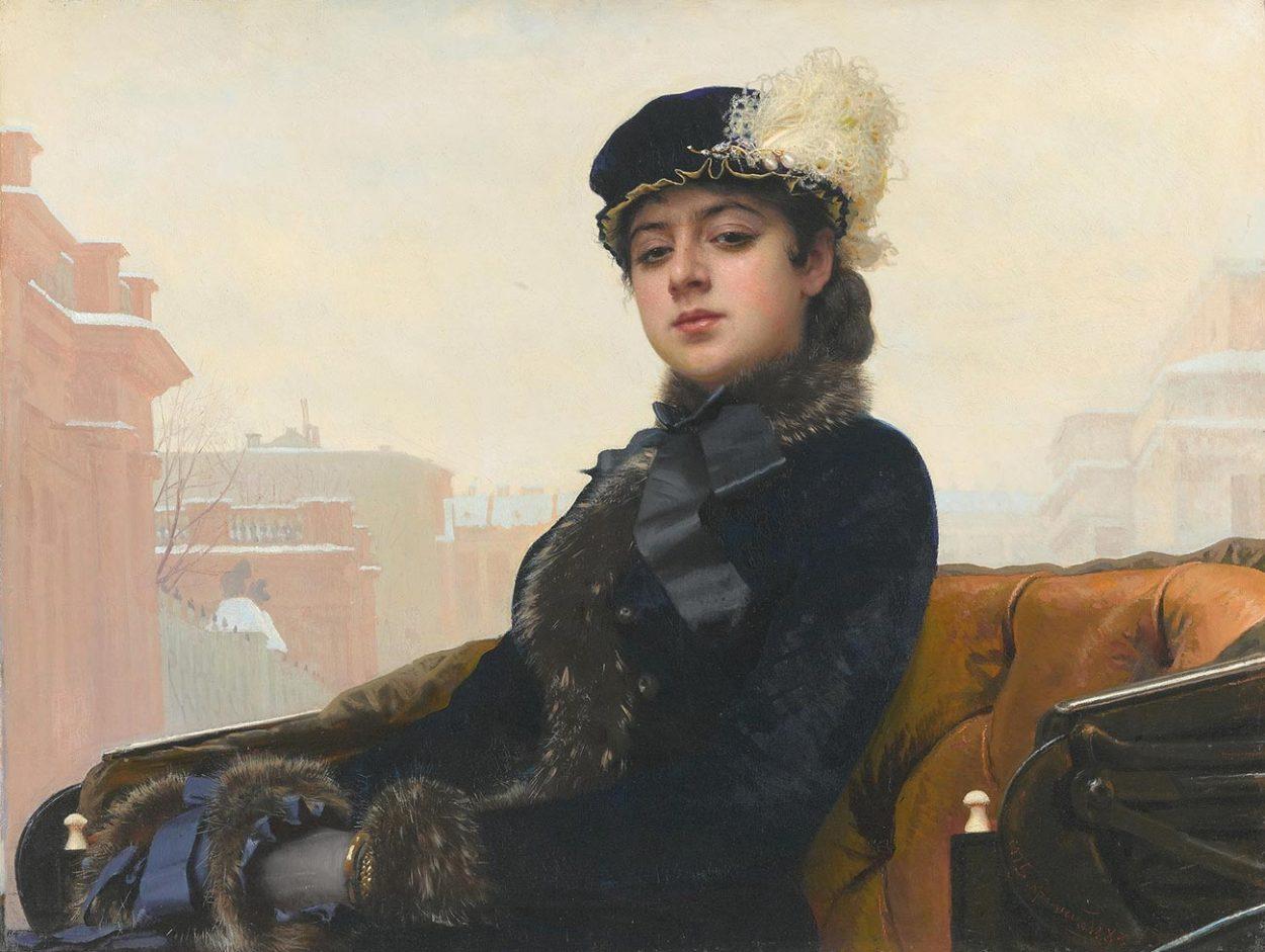 Картина Ивана Крамского «Неизвестная»