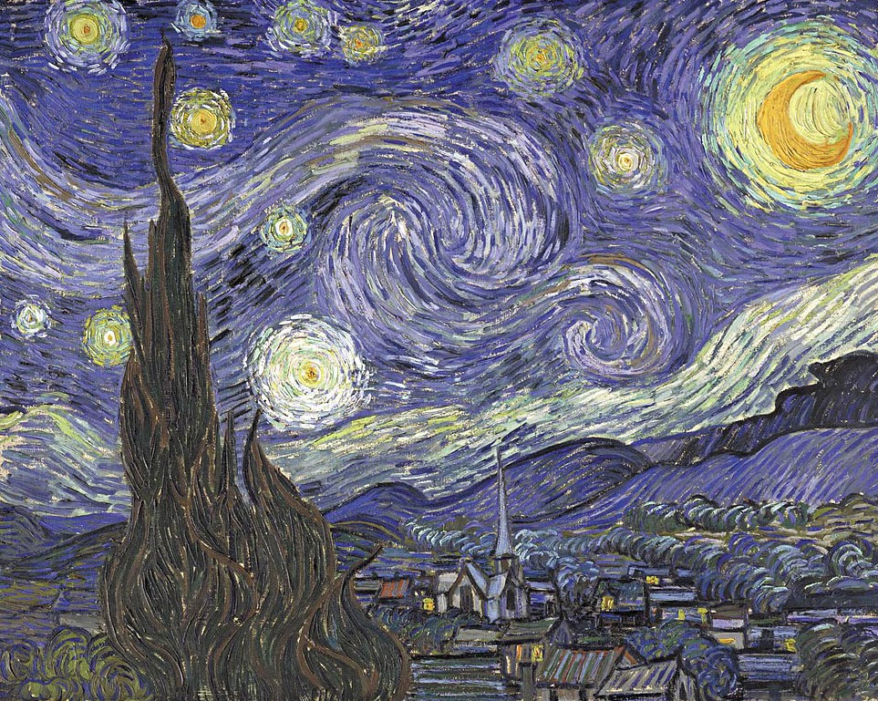 «Звёздная ночь» Ван Гога