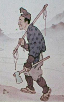 Японский сказочный персонаж « Хэйсаку»