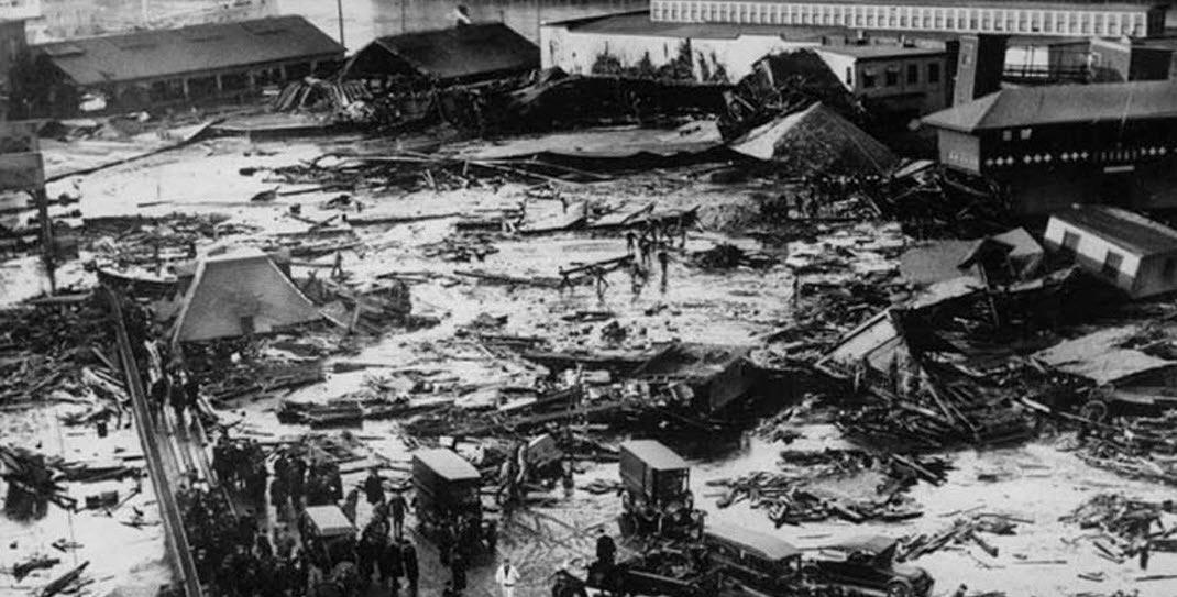 Последствия пивного потопа