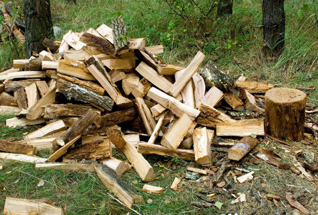 Деревянные чурки-баклуши