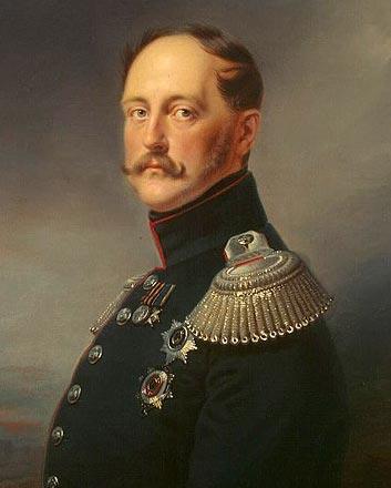 Российский император Николай I