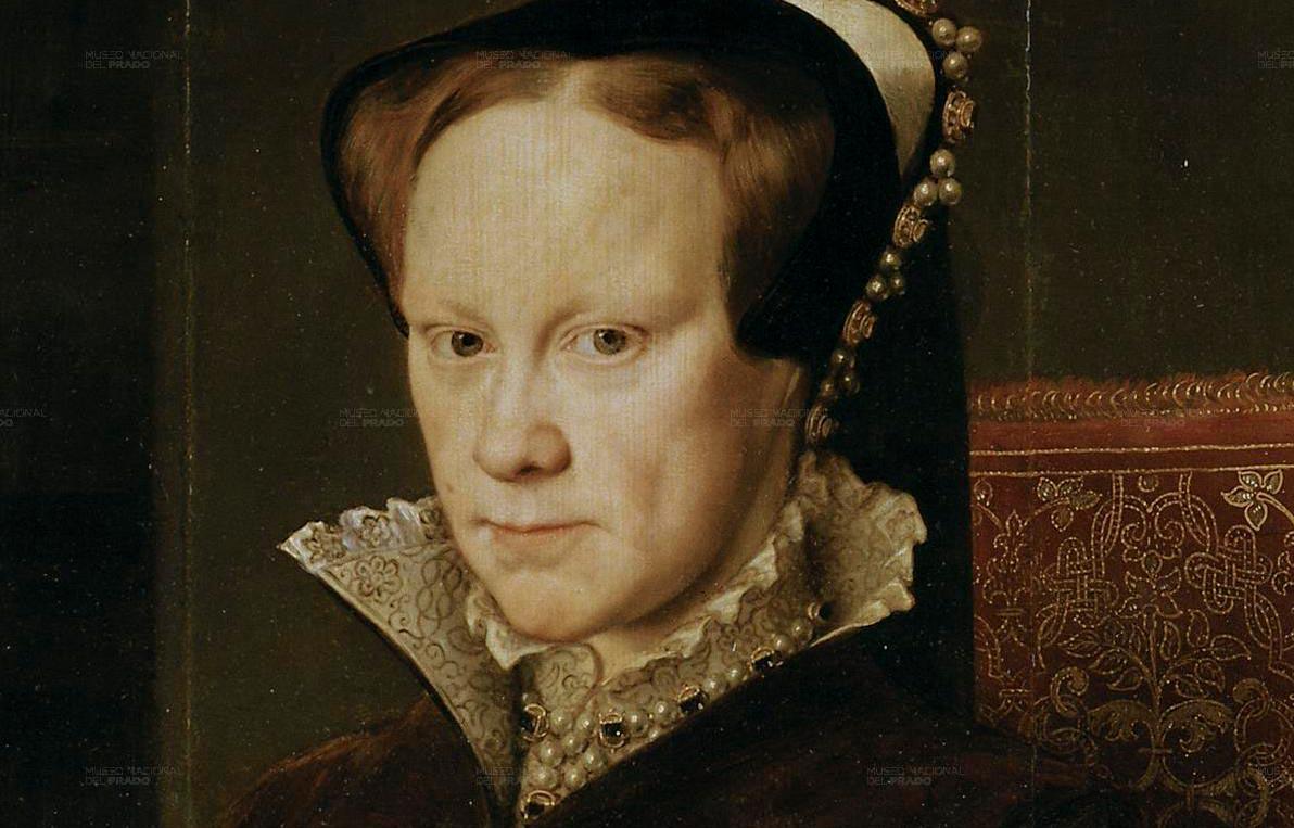Портрет Марии Тюдор. Г. Эворт, 1554 год