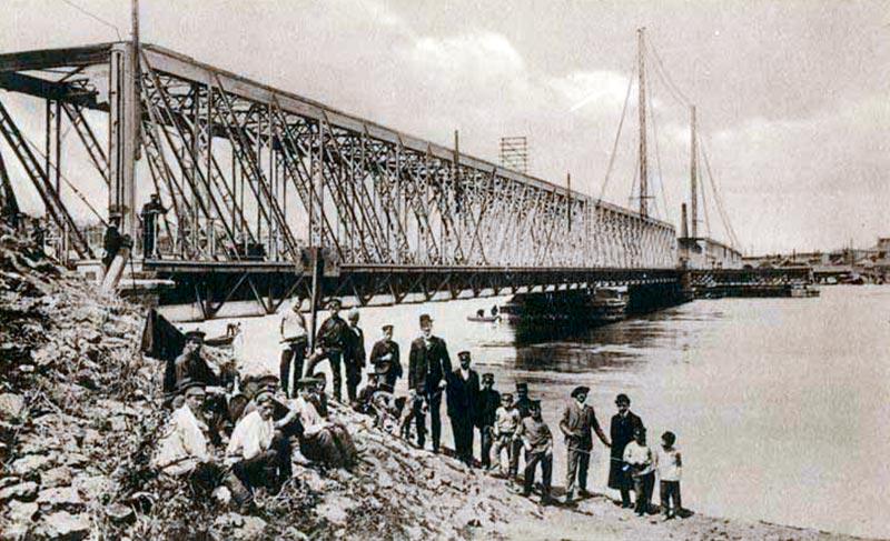 Мост через реку Дон Владикавказской ж.д.