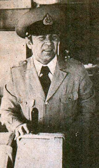 Капитан теплохода В. В. Клеймёнов