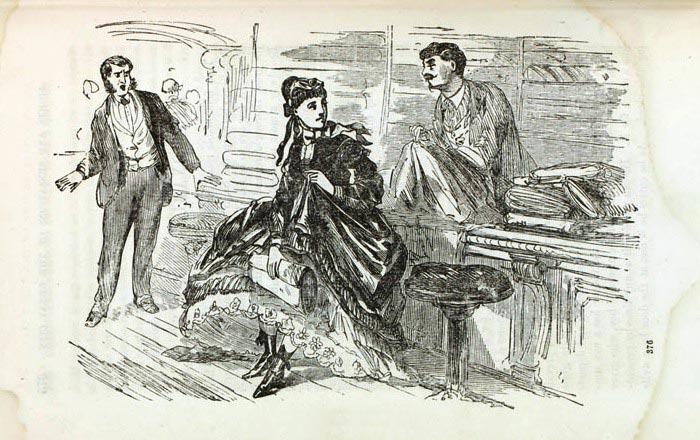 Женская банда Викторианской эпохи