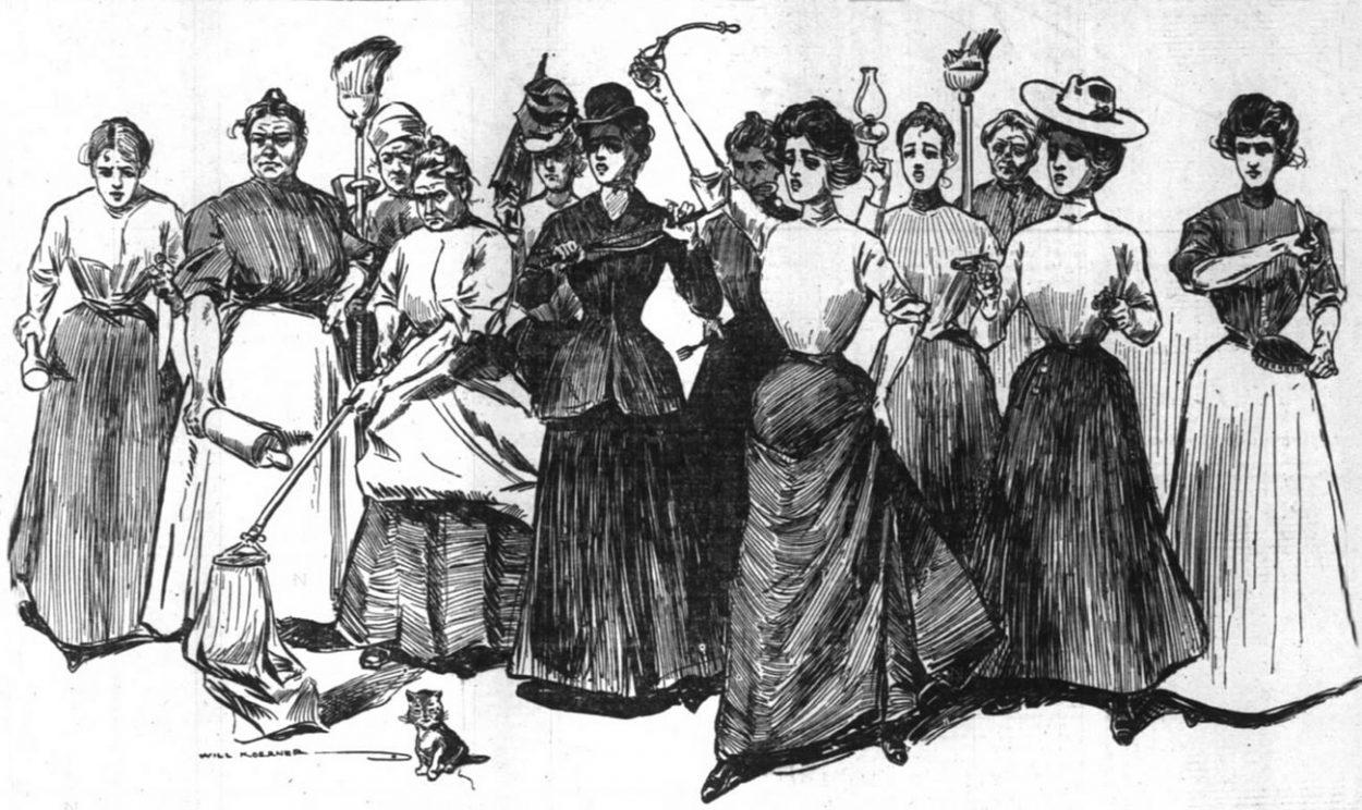 Суфражистки