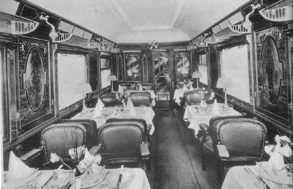 Вагон-ресторан поезда «Восточный экспресс»