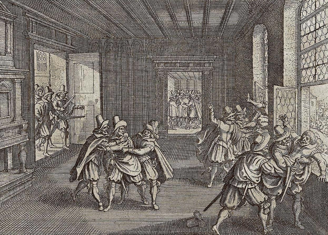 Массовая казнь католиков протестантами в Праге, 1618 год