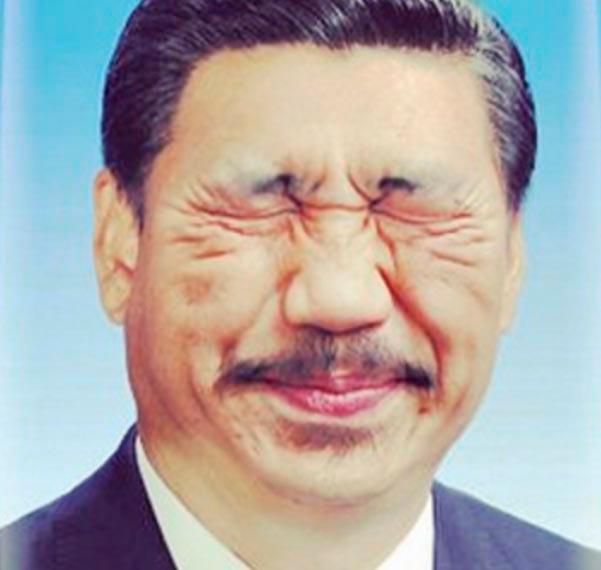 Мем на китайского президента Си Цзиньпина