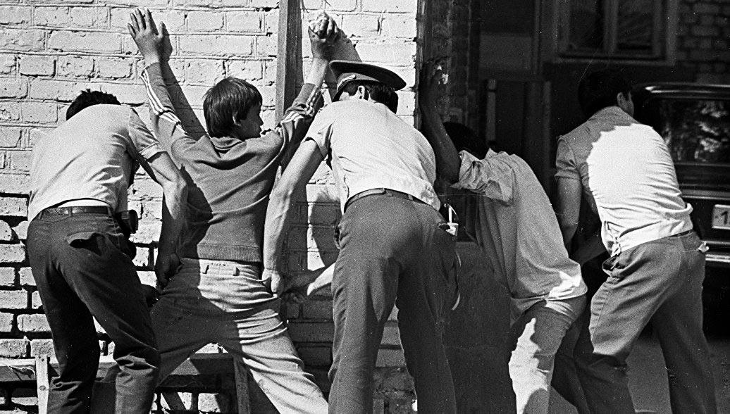 Задержание бандитов в СССР