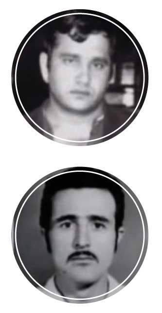 Двоюродные братья Николай и Феликс Калачян