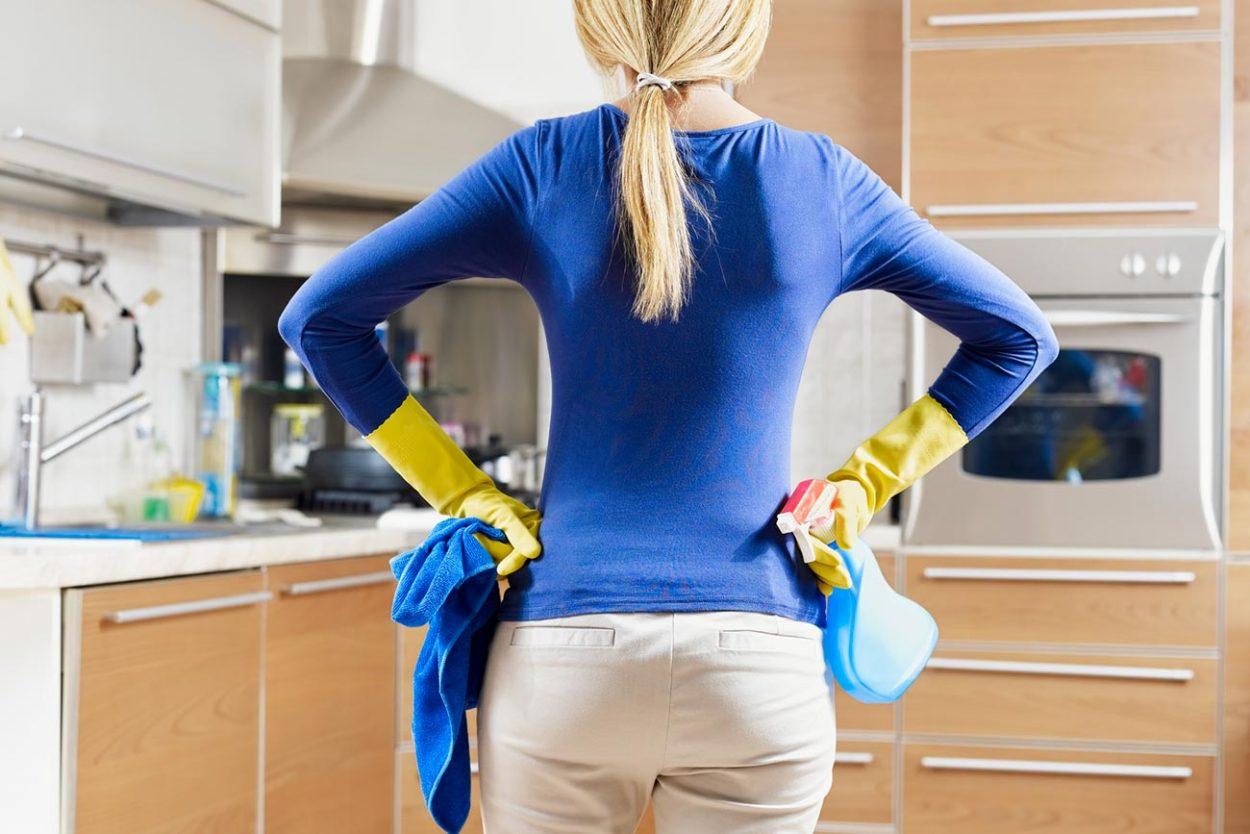 Наведение чистоты в доме