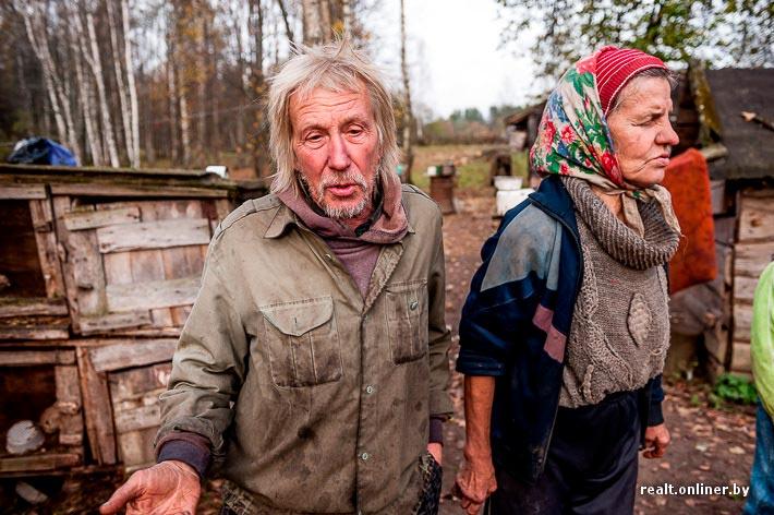 Отшельники Тамара и Юрий Бойко