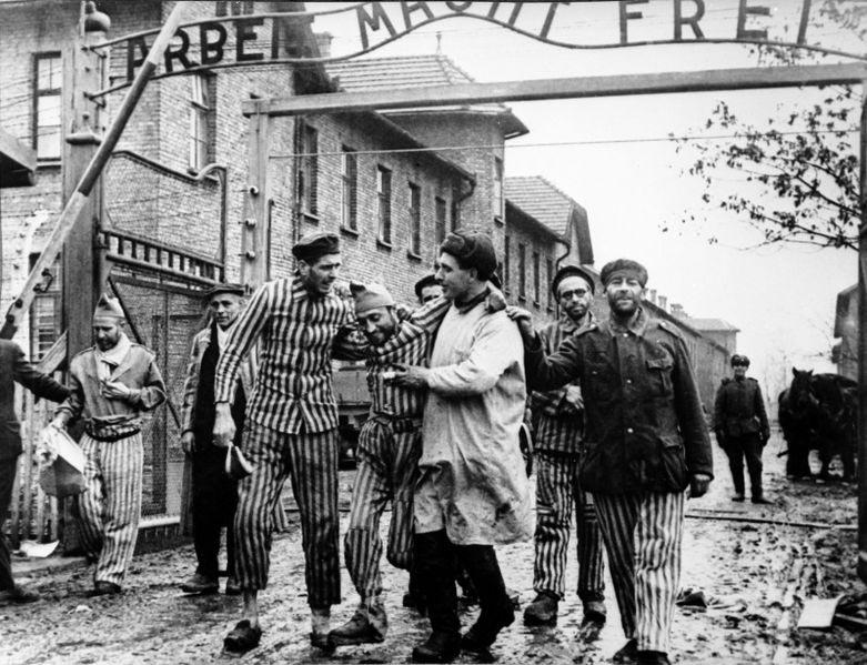 Освобождение Евреев из концлагеря Освенцим