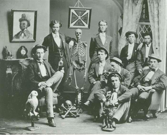 Члены братства «Фи Каппа Сигма», 1872 год