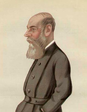 Карикатурное изображение Чарльза Бойкотта