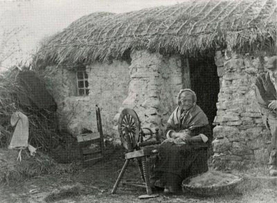 Ирландская крестьянка