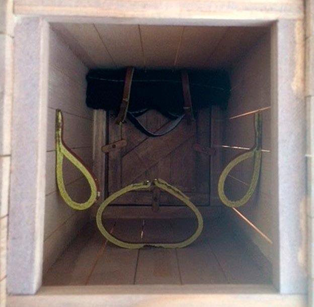 Удобства внутри ящика
