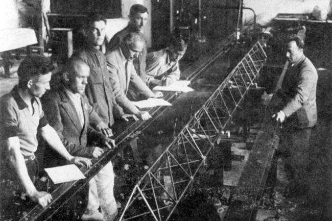 Авиаинженеры московского КБ тюремного типа