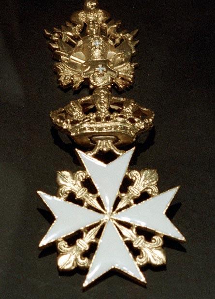 Крест ордена госпитальеров