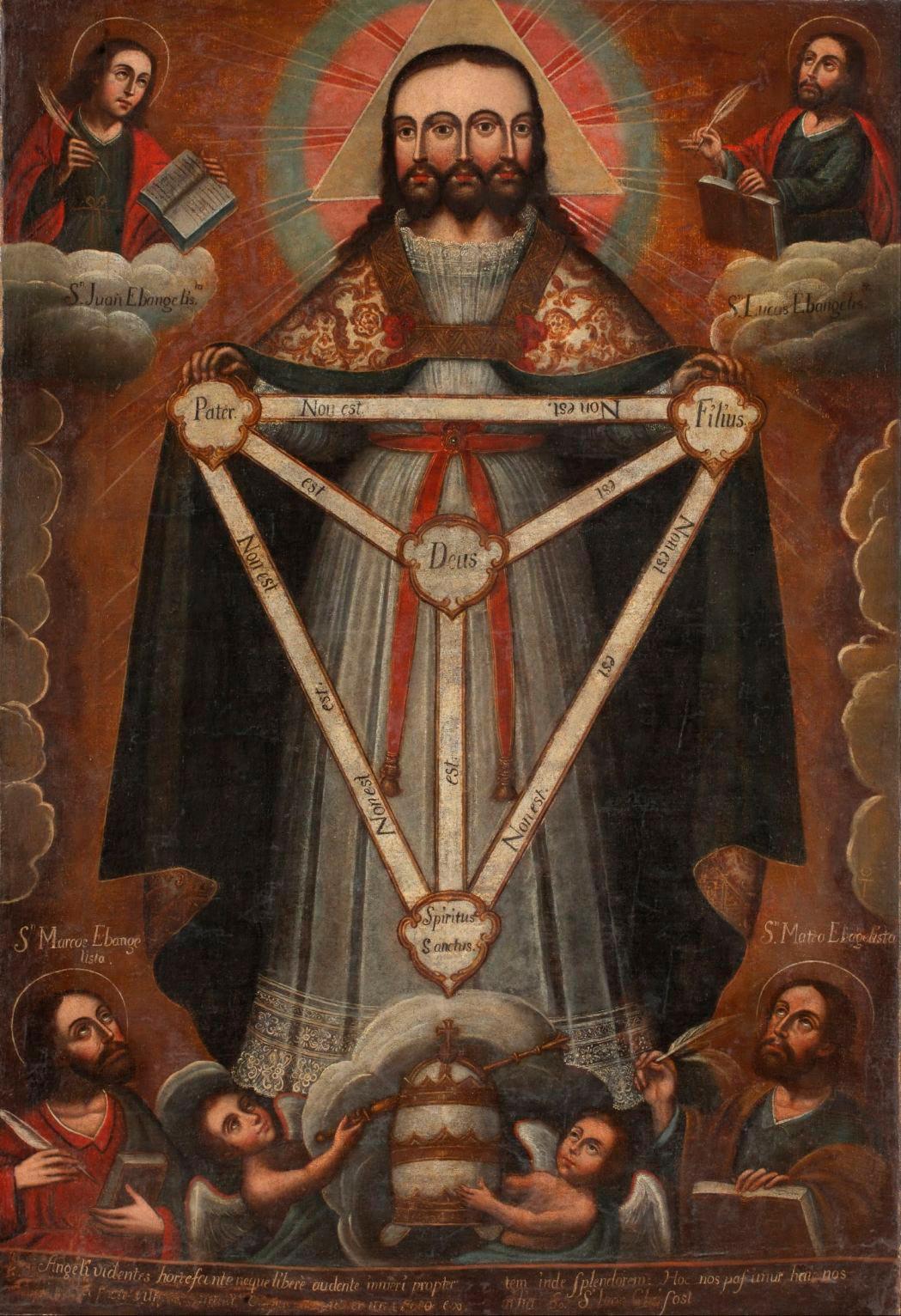 Икона Смесоипостасная троица