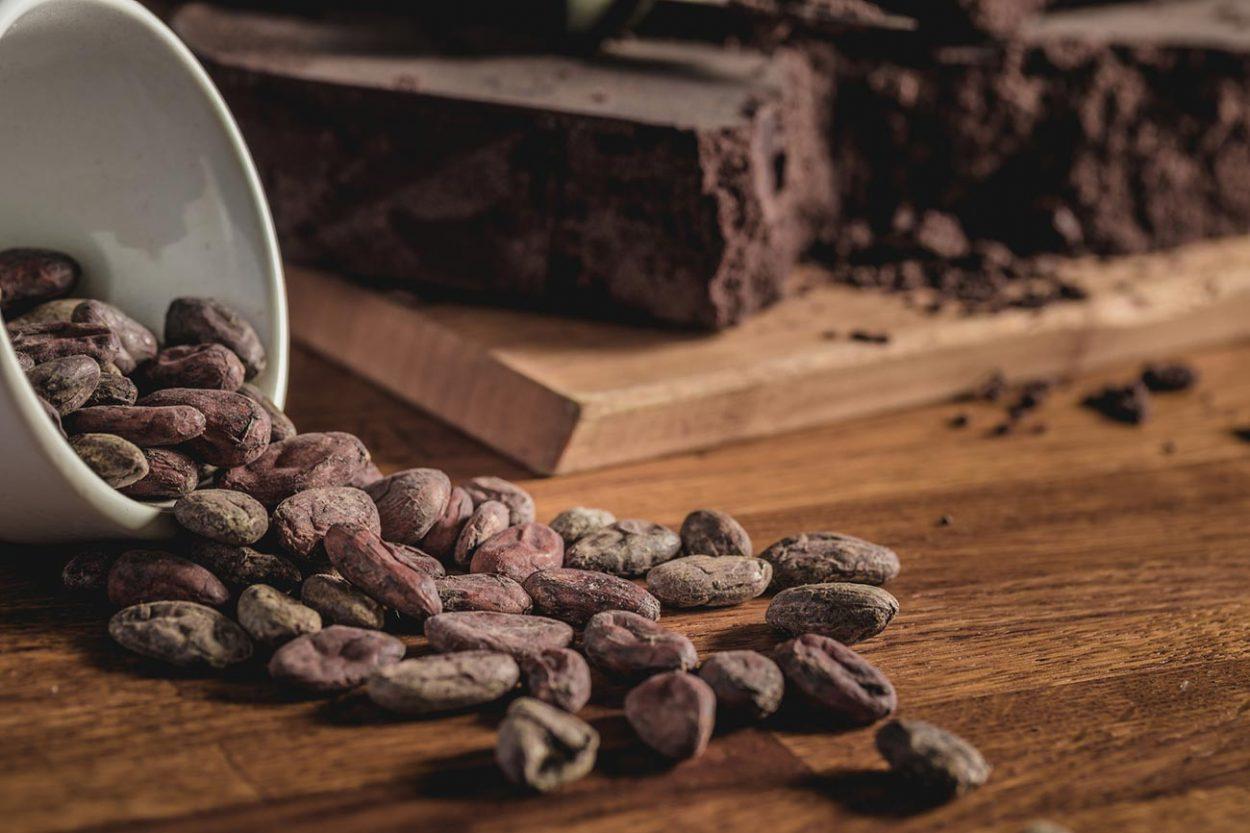 Шоколад и какао-бобы
