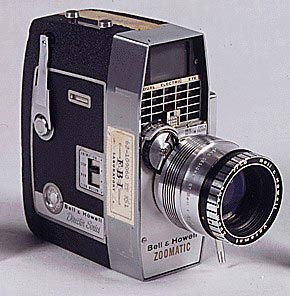 Камера на которую Запрудер снял убийство Кеннеди