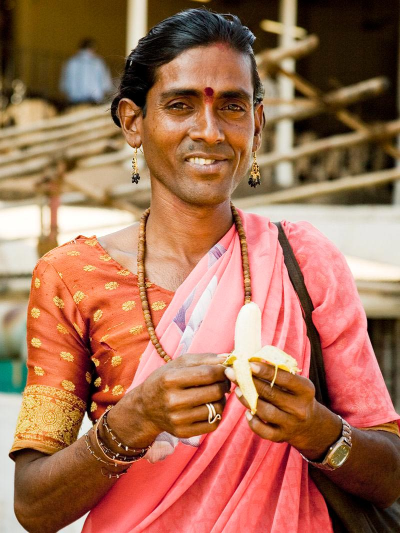 Один из представителей касты хиджр
