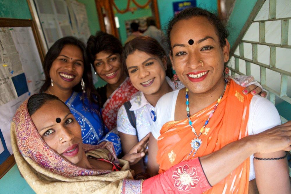 Хиджра — каста неприкасаемых в Индии