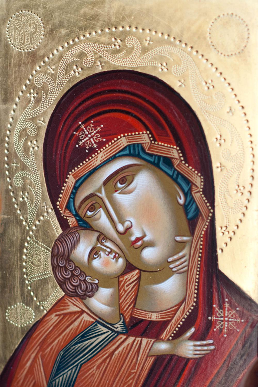 «Мария и Иисус». Неизвестный автор.